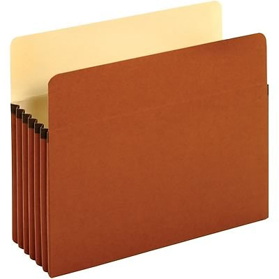 Quill Brand® File Pockets (Recycled); Letter Size, 5-1/4 Expansion