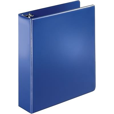 Quill Brand® 2 inch, D-Ring, Non-View Binder, Dark Blue (758402)