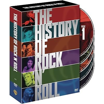 The History of Rock and Roll DVD Set