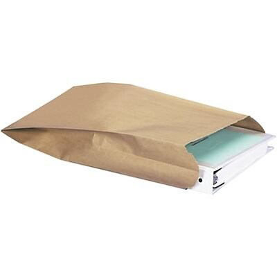 Gusseted Nylon Reinforced Paper Envelopes; #8G, 8-1/2x3-1/4x14-1/2, 500/CS