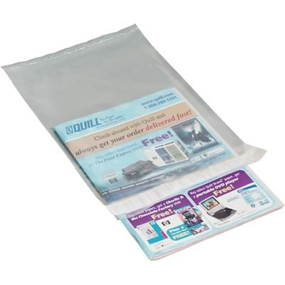 Clear View Poly Mailers; 9x12