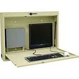 Informatics Computer Wall Workstation; Beige
