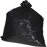Nature Saver 7-10 Gal. Black Recycled Trash Liners