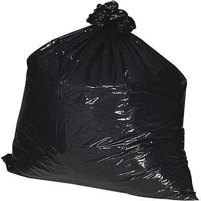 Nature Saver® Recycled Low Density Trash Bags; 7 Gallon, Extra Heavy, 500/Box,
