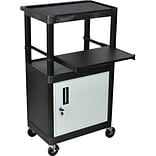 Luxor® Stand-Up Computer Workstation w/Cabinet