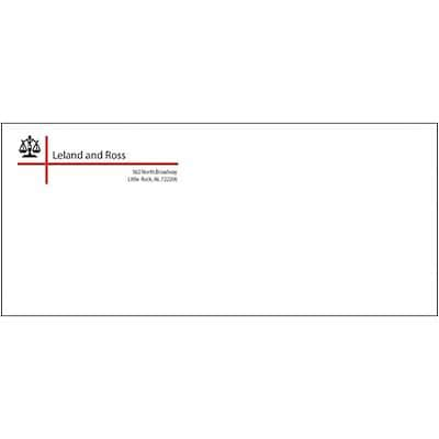 #10 Standard 2-Clr Classic(r) Linen Env;Nat Wht