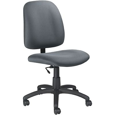 Global® Goal Low-Back Task Chair without Arms; Grey