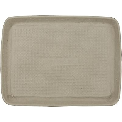 Chinet® Serving Trays; Beige, 1Hx9Wx12D, 250/Case