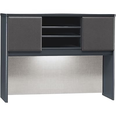 Bush® Cubix® Collection in Slate Finish; 48 Hutch, Ready to Assemble