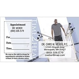 Medical Arts Press® Dual-Imprint Peel-Off Sticker Appointment Cards; Time 2 Heal