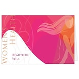 Medical Arts Press® Medical Greeting Cards;  Beautiful You,  Personalized