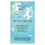 Medical Arts Press® Dual-Imprint Peel-Off Sticker Appointment Cards; Pet Groomer