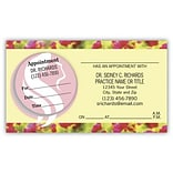 Medical Arts Press® Dual-Imprint Peel-Off Sticker Appointment Cards; Womens Health