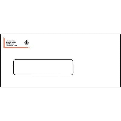 #10 2-Color Envelopes with Window, White