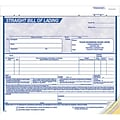 8-1/2x7 Blue 3-part Bill of Lading