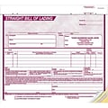 8-1/2x7 Burgundy 3-part Bill of Lading
