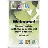 Medical Arts Press® Generic Full-Color Message Signs; Botanical