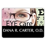 Custom Printed Medical Arts Press® Full-Color Eye Care Name Badges; Large, Eye Chart
