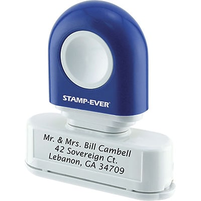 how to order custom stamp staples