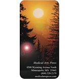 Medical Arts Press® Elegant Escapes® 2x4 Full-Color Magnets; Photographic, Pine Sunset