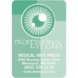 Medical Arts Press® Color Choice Stickies™; Professional Eye Care