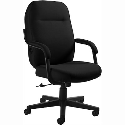 Global® Air Support™ High-Back Tilter Chair; Black