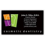 Medical Arts Press® Cosmetic Dentistry Business Card Magnets; Tooth