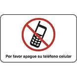 Please Turn Off Your Cellphone, Spanish Sign