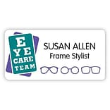 Medical Arts Press® Designer Name Badges; Large, Eye Care Team