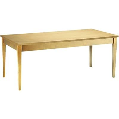 Mayline® Luminary Collection in Maple; Table Desk