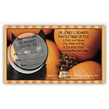 Greg Cuddiford Medical Arts Press® Dual-Imprint Peel-Off Sticker Appointment Cards; Halloween