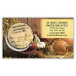 Medical Arts Press® Dual-Imprint Peel-Off Sticker Appointment Cards; Fall
