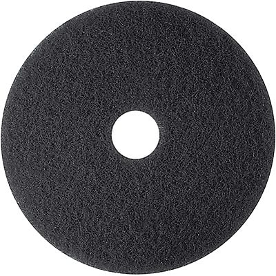 Premiere® Floor Pads; Stripping, 17, Black, 5 Pads/Case