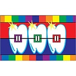 Medical Arts Press® Dental Business/Appointment Cards; Teeth with Braces