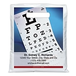 Medical Arts Press® Eye Care Personalized Full-Color Bags; 7-1/2x9, Glasses Eye Chart