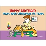 Garfield Chiropractic Standard 4x6 Postcards; From Your Chiropractic Team