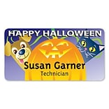 Medical Arts Press® Full-Color Seasonal Name Badges; Standard, Pumpkin Pets
