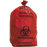 Biomedical Waste Disposal Systems, Infectious Waste Bags, 3-Gallon