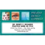 Medical Arts Press® Eye Care Business Card Magnets; Prevent/Detect/Correct