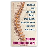 Medical Arts Press® Chiropractic Recycled Business/Appointment Cards; Small Problems
