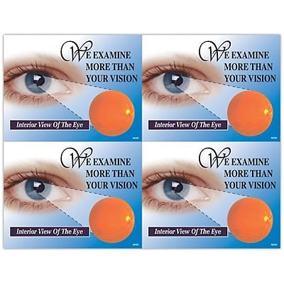 Medical Arts Press® Eye Care Laser Postcards; Exam More Than Vision