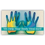 Medical Arts Press® Chiropractic Recycled Business/Appointment Cards; Help Body
