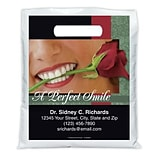 Medical Arts Press® Dental Personalized Full-Color Bags; 7-1/2x9, Perfect Smile