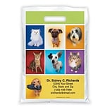 Medical Arts Press® Veterinary Personalized Full-Color Bags; 9x13, Dogs and Cats
