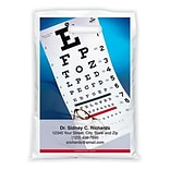 Medical Arts Press® Eye Care Personalized Full-Color Bags; 9x13, Glasses Eye Chart