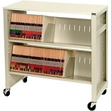 Medical Arts Press® File Transport Cart II with Top