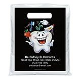 Medical Arts Press® Dental Personalized Full Color Bags; 7-1/2x9,Toothguy