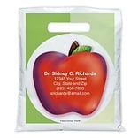 Medical Arts Press® Medical Personalized Full-Color Bags;7-1/2x9, Apple