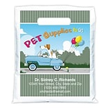 Medical Arts Press® Veterinary Personalized Full-Color Bags; 7-1/2x9, Dog Cat Car