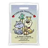 Medical Arts Press® Veterinary Personalized Full-Color Bags; 9x13, Cartoon Pets